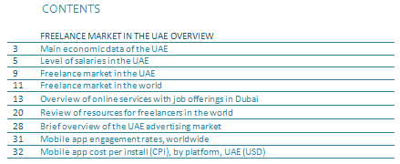 FREELANCE IN THE UAE
